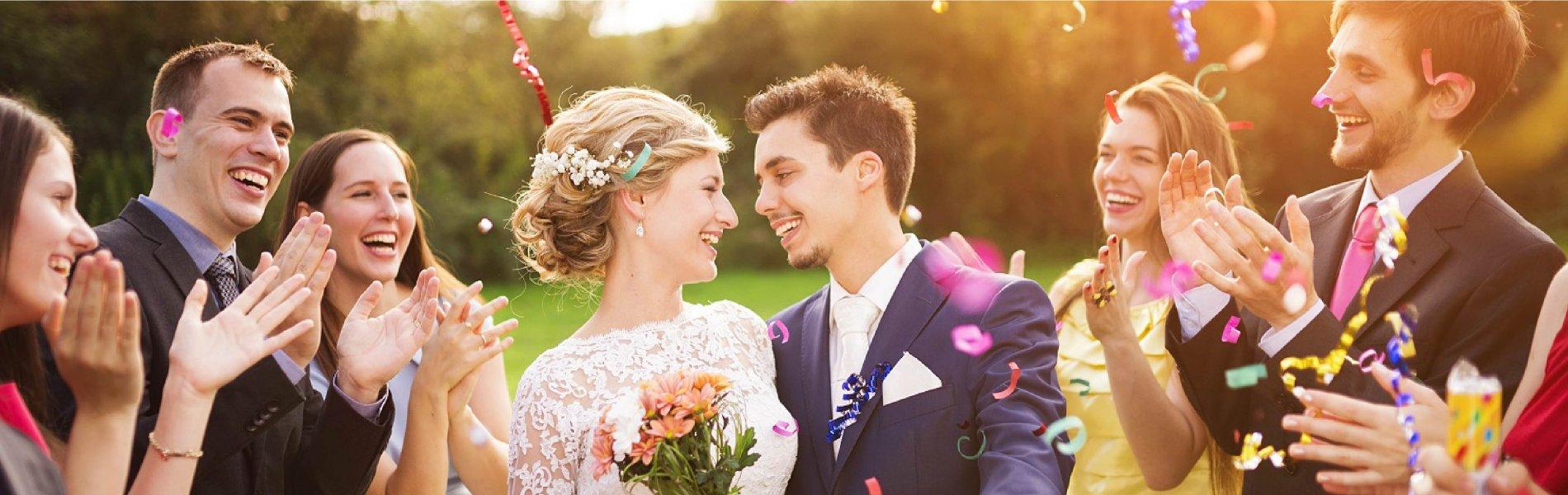Trouvez les professionnels du mariage